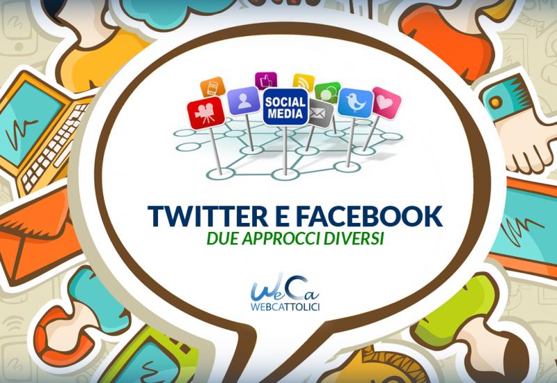 Facebook e Twitter – Due mondi diversi