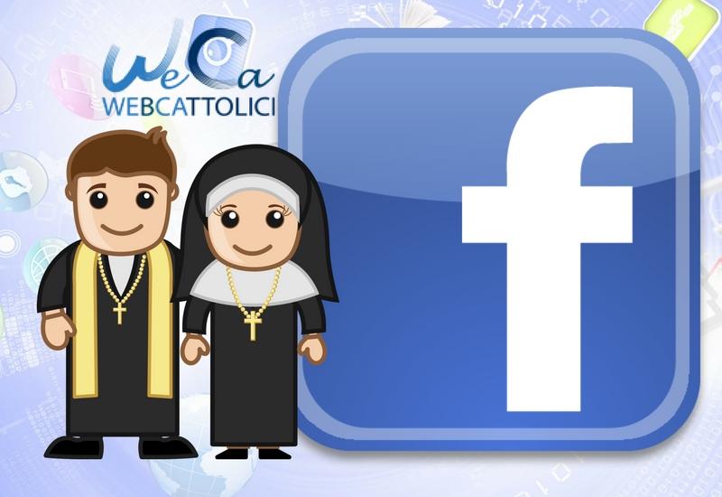 Facebook: un profilo per sacerdoti e religiosi