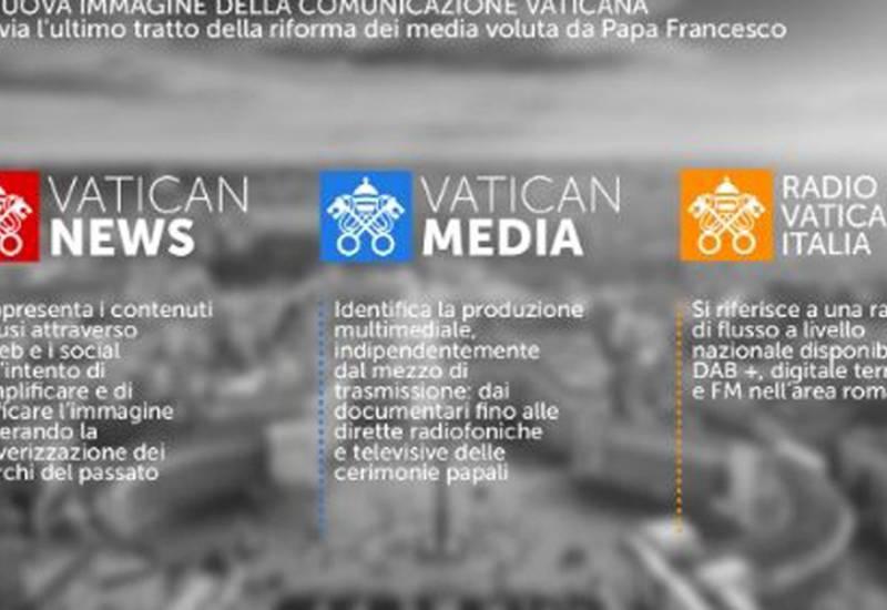La nuova immagine della comunicazione vaticana