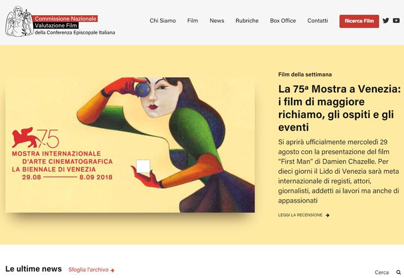 Cei: è online il nuovo sito della Commissione nazionale valutazione film