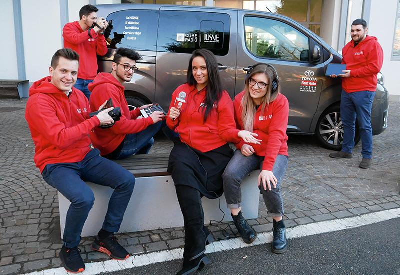 Sei digital reporter dello Iusve a Sanremo