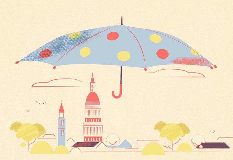 Una comunità ombrello