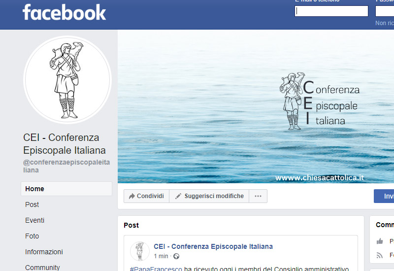 """Con l'evento """"Mediterraneo, frontiera di pace"""" del 19-23 febbraio, la CEI arriva sui social"""