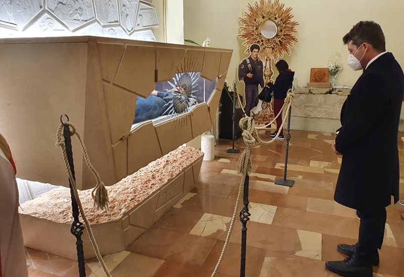 WeCa alla cerimonia di beatificazione di Carlo Acutis ad Assisi