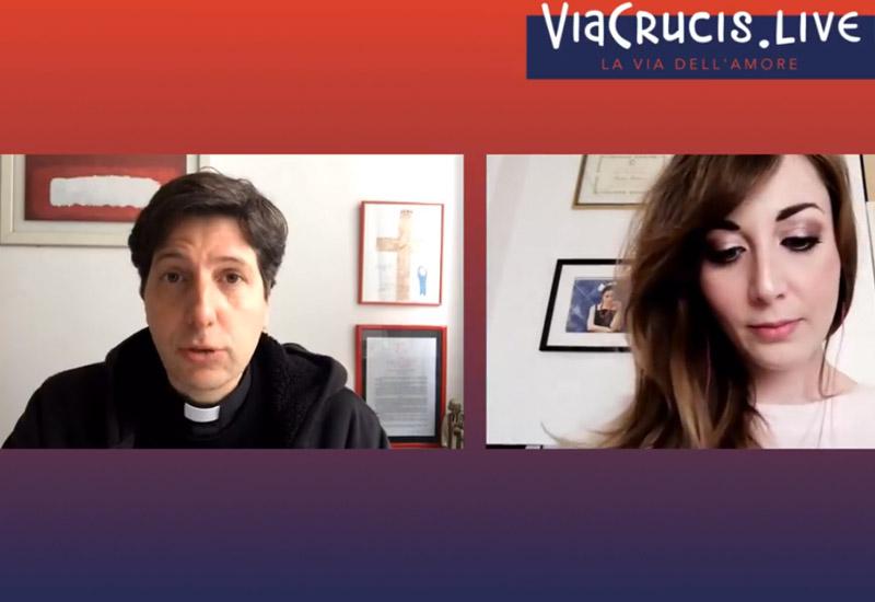 Diocesi di Roma – Via Crucis LIVE 🙏 La via dell'Amore ✝️ Tutti i Venerdì di Quaresima