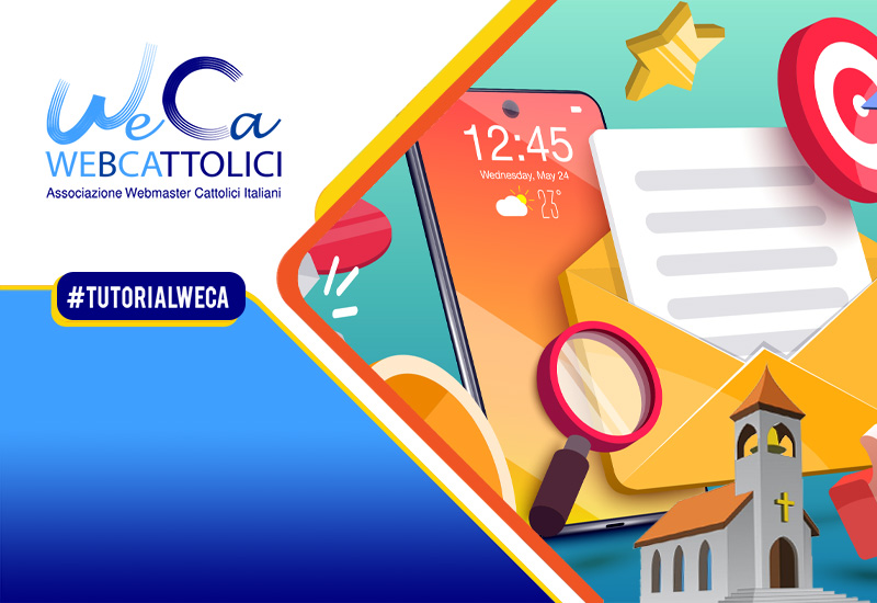 Cover-Nuovi-Tutorial-WeCa-Mailchimp-newsletter-email-automation-parrocchia-800×550