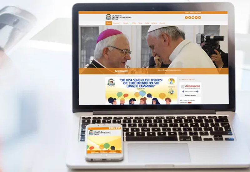 """Nuovo Sito web per la Diocesi di Oppido Mamertina – Palmi: """"La comunicazione è strumento di comunione nella Chiesa"""""""