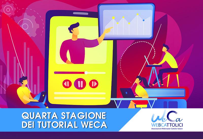 Chiesa e digitale, nuova stagione dei tutorial di WeCa