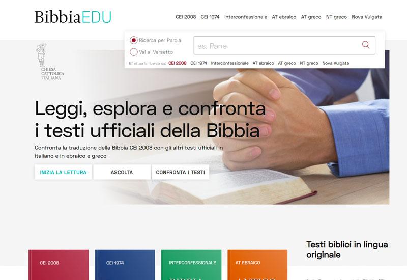 Il consiglio del mese. BibbiaEdu. Un sito che aiuta a leggere la Bibbia pensato per essere utilizzato da tutti